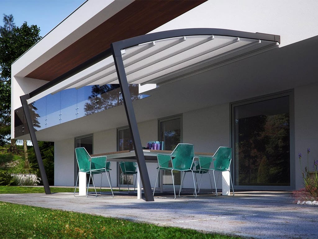 Pergolati Da Giardino In Alluminio : Pergole in alluminio salerno de vivo showroom