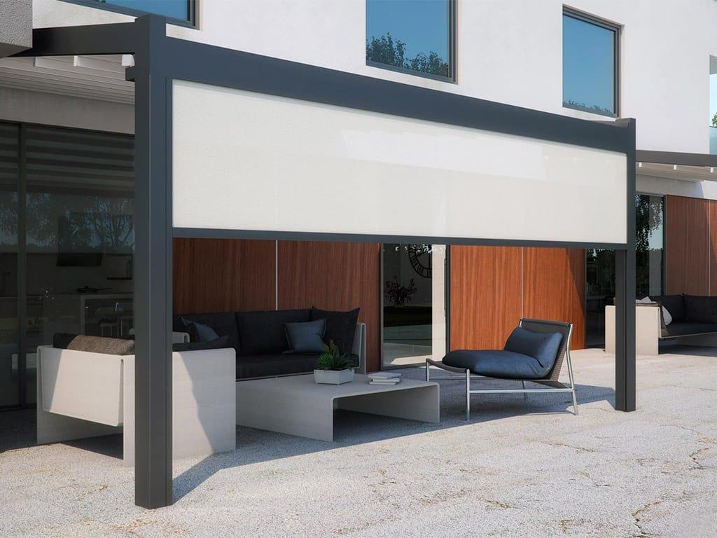 Pergolati Da Giardino In Alluminio : Pergole in alluminio napoli de vivo showroom
